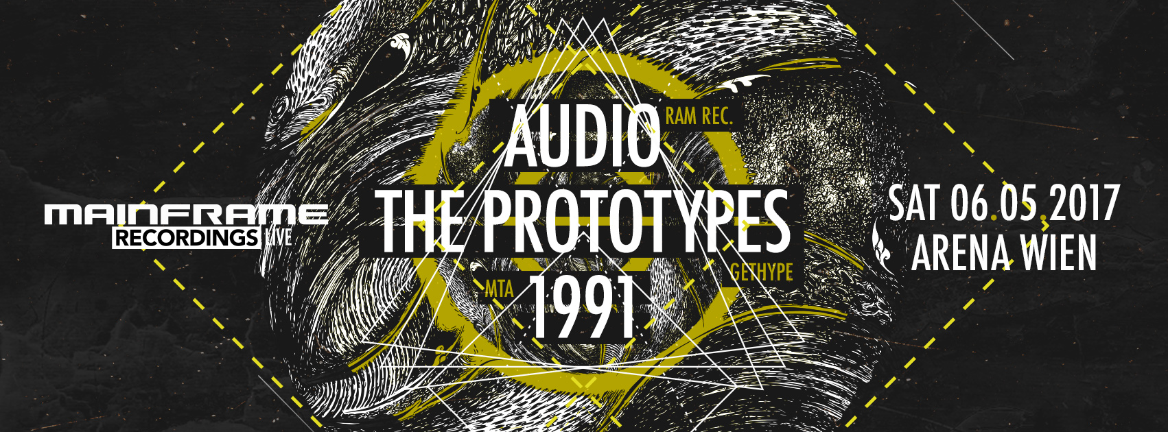 Mainframe Recordings Live! pres. AUDIO / THE PROTOTYPES / 1991 – Tickets available!