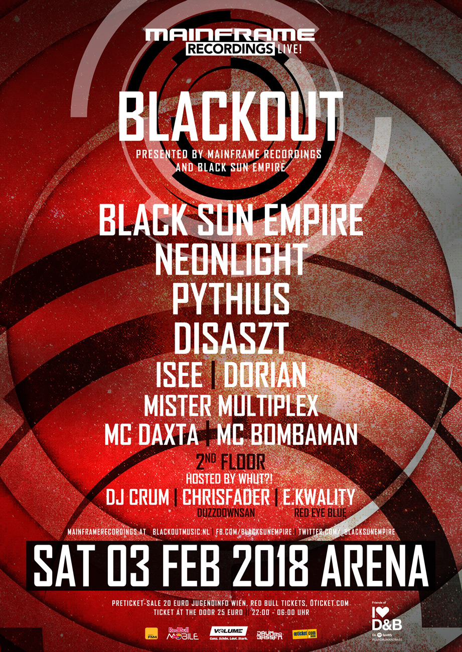 Mainframe Recordings LIVE pres. Blackout Night